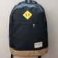 Чёрный городской рюкзак Swisswin Black Gold Backpack