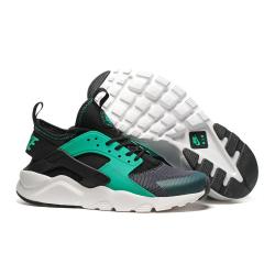 Чёрные/мятные женские кроссовки Nike Air Huarache ULTRA Black Mint WmNs