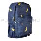 Синий джинсовый рюкзак с бананами Backpack Jeans Banana Blue