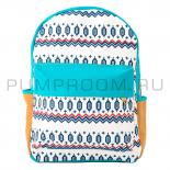 """Бирюзовый/мятный тканевый рюкзак """"Этнос"""" Ethnic Backpack Mint 2"""