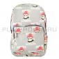 Серый тканевый рюкзак Pom des garcons Backpack Gray
