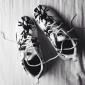 Белые женские кроссовки Nike Women's Roshe Run Palm Trees Пальма