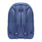 Синий городской рюкзак Canvas Navy Blue Backpack Lijiebao