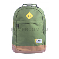 Зелёный городской рюкзак Swiss Green Gold Backpack