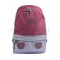 Бордовый/серый тканевый городской рюкзак Ozuko Backpack Gray Dark Red Big