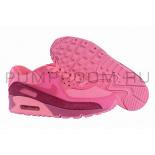 Розовые кроссовки Nike Wmns Air Max 90 Premium Fireberry Pink Pow