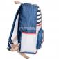 Джинсовый городской рюкзак с Совой Jeans Backpack Nikki Owl Left