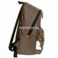 Тёмно-коричневый тканевый городской рюкзак Ozuko Backpack Brown
