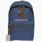 Синий тканевый городской рюкзак Ozuko Backpack Blue