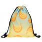 Рюкзак-мешок на завязках с Бананами School Backpack Bananas Light Blue