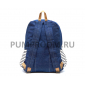 Синий джинсовый рюкзак в полоску Animal Jeans Classic Backpack