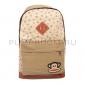 Коричневый тканевый рюкзак с якорями Paul Frank Backpack Anchor Sand Brown