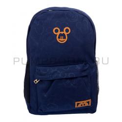 Синий женский рюкзак Микки Маус Backpack Mickey Disney Blue