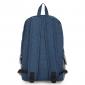 Синий/серый тканевый городской рюкзак Ozuko Backpack Gray Blue Big