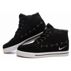 337ffe5f Зимние замшевые кроссовки Nike Sweet Classic Leather Black Winter ...