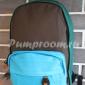 Зелёный/коричневый/голубой тканевый рюкзак City Walk Backpack Green Brown Blue 01