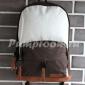 Коричневый/белый тканевый рюкзак City Walk Backpack Brown White
