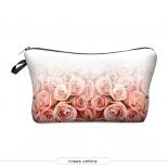 "Косметичка-пенал на молнии ""Розы"" Cosmetic Bag Roses Ombre 3D"