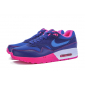 Женские синие кроссовки Nike Air Max 1 Essential Premium QS Blue Bright Pink