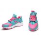 Розовые/голубые женские кроссовки Nike Air Huarache WmNs OG Mint Pink 318429-604