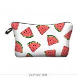 """Косметичка-пенал на молнии """"Арбуз"""" Cosmetic Bag Watermelon 3D"""