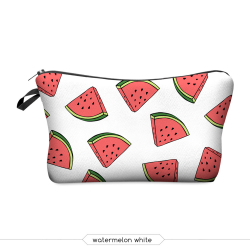 "Косметичка на молнии ""Арбуз"" Cosmetic Bag Watermelon 3D"