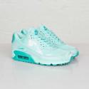 "Мятные женские кроссовки Nike WMNS Air Max 90 Print  ""Artisan Teal"""