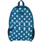 Тёмно-бирюзовый рюкзак со звёздами Nikki Nanaomi Backpack Mint Stars