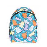Синий городской рюкзак с котятами Blue Fat Cat Backpack SL