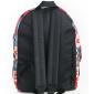 Чёрный городской рюкзак с волком Electric Wolf Black Backpack SL