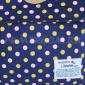 Синий тканевый рюкзак в горошек Backpack Lifetoten Blue Dots Yellow Pink
