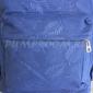 Синий тканевый рюкзак Backpack Blue 3d Leaf Ornament