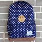 Синий тканевый рюкзак в горошек Backpack Lifetoten Blue Dots Gray Pink