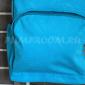 Голубой тканевый рюкзак Backpack Light Blue 3d Leaf Ornament