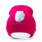Розовая зимняя шапка с кошечкой показывающей F*CK Beanie Ripndip Nermal Pink