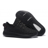 "Чёрные кроссовки Adidas Yeezy Boost 350 ""Pirate Black"" By Kanye West"