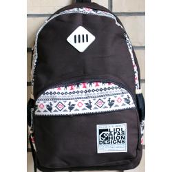 Коричневый городской рюкзак Backpack Aztec RRX Brown