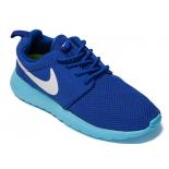 Синие женские кроссовки Nike Roshe Run Blue