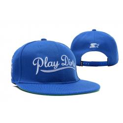Синяя бейсболка с прямым козырьком Play Dirty Snapback